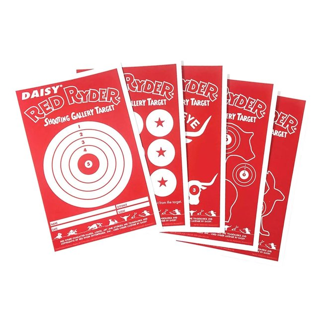 Daisy Red Ryder Paper Targets - 25ct