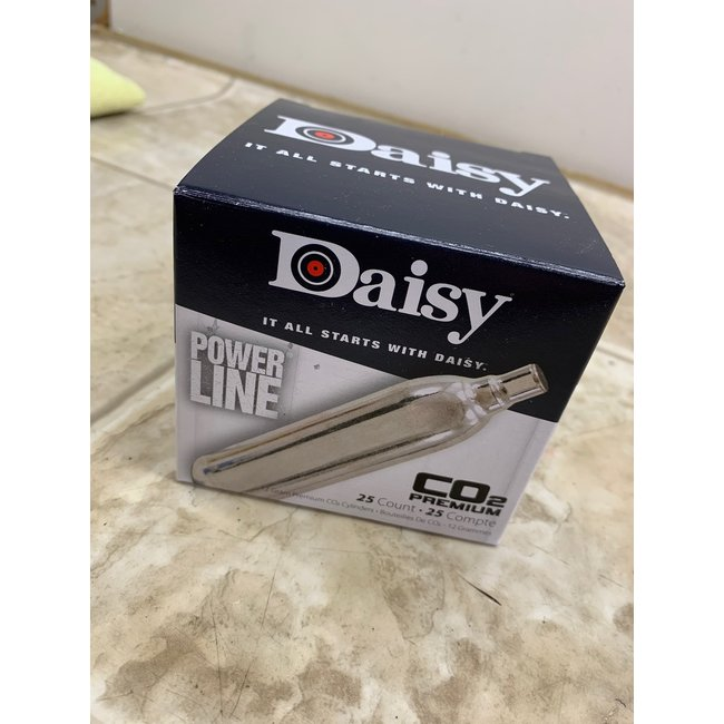 Daisy Powerline 12g CO2 - 25ct