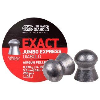 JSB Match Diabolo JSB  Exact Express .22 Cal, 14.35gr - 250 Count