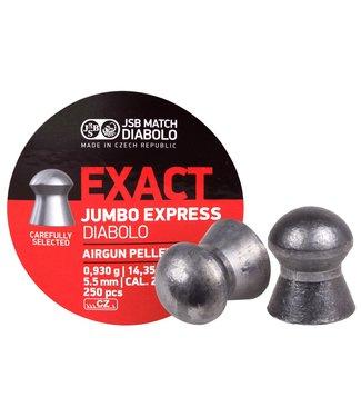 JSB Match Diabolo JSB Match Diabolo Exact Express .22 Cal, 14.35gr - 250 Count