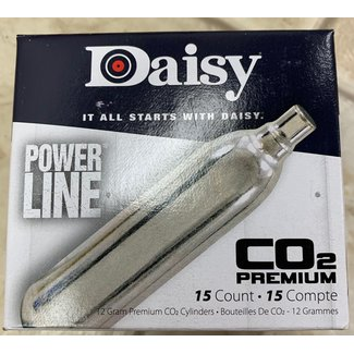 Daisy Powerline 12g CO2 - 15ct