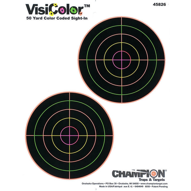 """Visicolor 5"""" Double Bull Target"""
