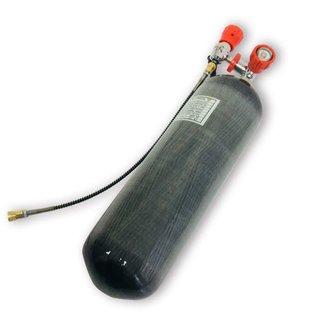 Acecare 6.8L Carbon Fiber Tank & Valve - DOT Stamped