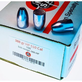 Nielsen Specialty Ammo NSA .510 Cal HP - 388gr - 100ct