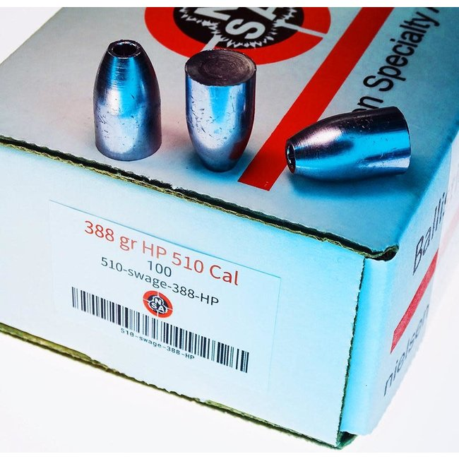 Nielsen Specialty Ammo NSA .510 Cal HP 388gr - 100ct