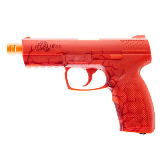 REKT REKT OpSix CO2 Foam Dart Pistol - Red