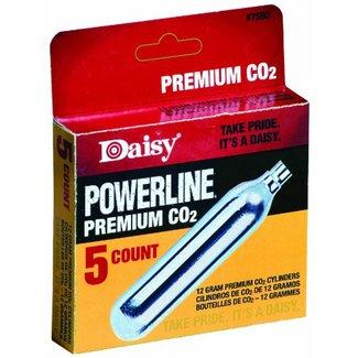 Daisy Powerline 12g CO2 - 5ct