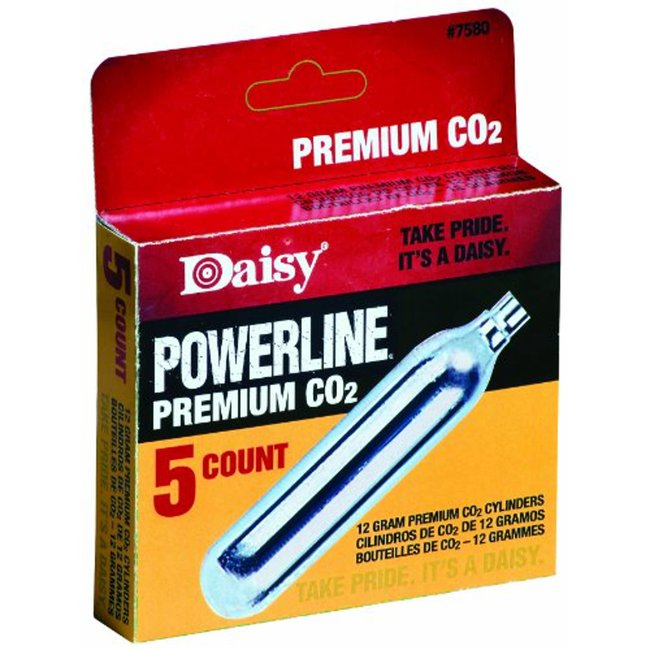 Daisy Powerline 12g CO2 - 5ct
