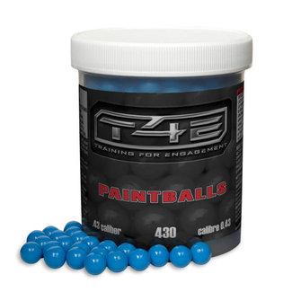 Umarex T4E Paintballs .43 Cal - Blue - 430ct