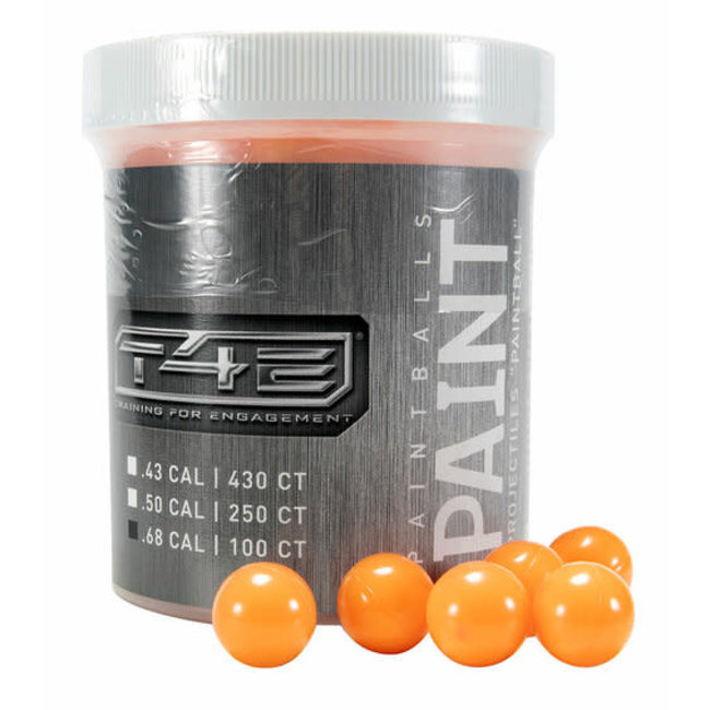 Umarex T4E Paintballs - .68 Cal - Orange - 100ct