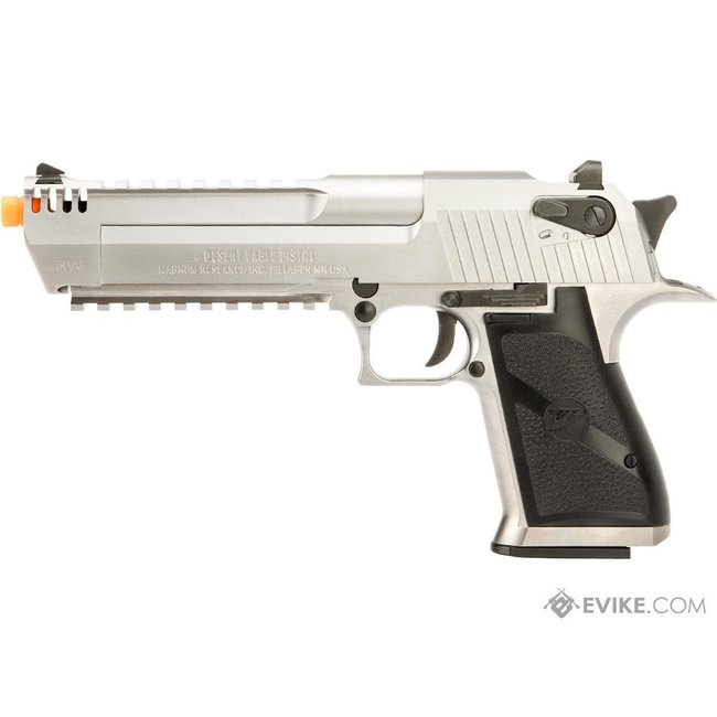 Desert Eagle Licensed L6 .50AE Full Metal Gas Blowback Airsoft Pistol CO2 - Silver