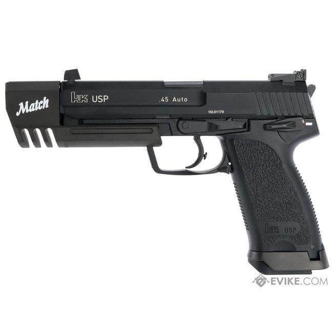 Heckler & Koch H&K USP Match Gas Blowback Airsoft Pistol by KWA