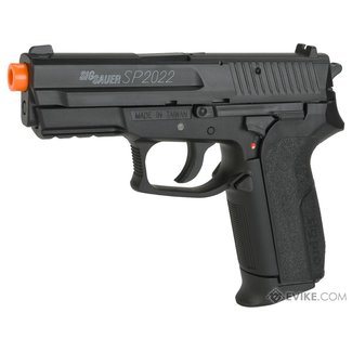 Swiss Arms Sig Sauer SP2022 CO2 Airsoft Gas Non-Blowback Pistol by KWC