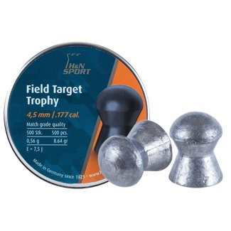 H&N H&N Field Target Trophy .177 Cal, 8.64gr - 4.50mm Head Size