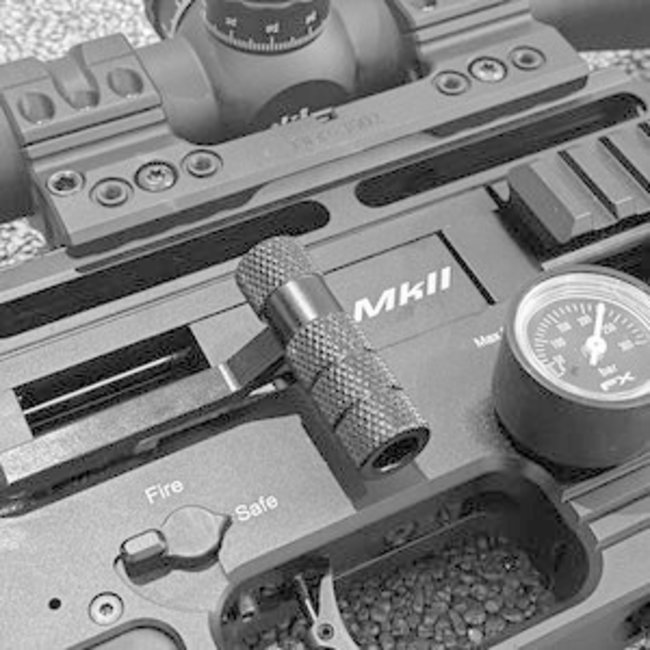 Huma-Air Max Grip Knurled Cocking Handle for FX Airguns