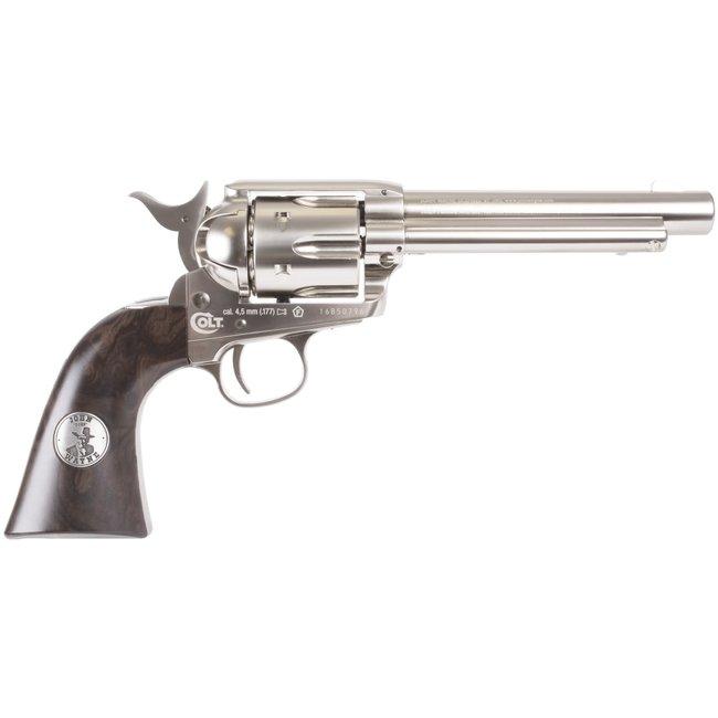 Colt John Wayne Colt Revolver - Pellet - Nickel Finish