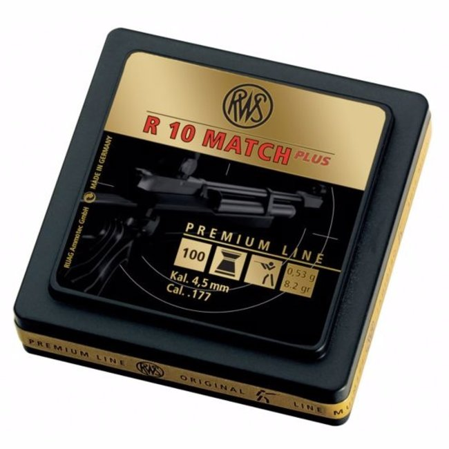 RWS RWS R10 Match Premium Line Heavy .177 Cal, 8.2gr