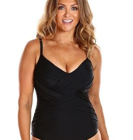 All About Black Criss Cross One Piece