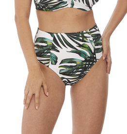 Fantasie Palm Valley High Rise Bikini Brief Fern
