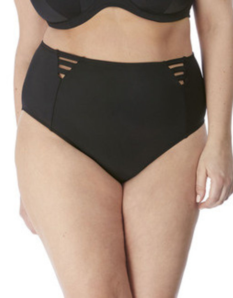Elomi Magnetic High Leg Brief Black