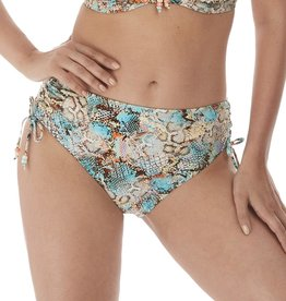 Fantasie Manila Mid Rise Adjustable Leg Brief Iced Aqua