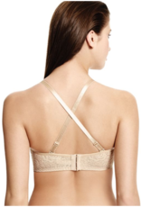 Halo Lace Strapless