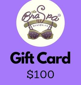 Bra Spa Gift Card - $100