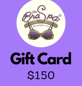 Bra Spa Gift Card - $150