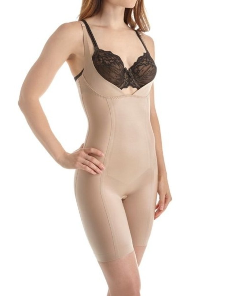 Body Hush Body Hush - All In One Shaper - BH1507MS - Nude- L