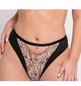 Scantilly Scantilly - Sex Education High Waist Thong - ST014212