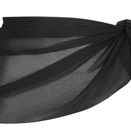 Capriosca Capriosca - Mesh Tie Skirt Short - MT9901A - Black