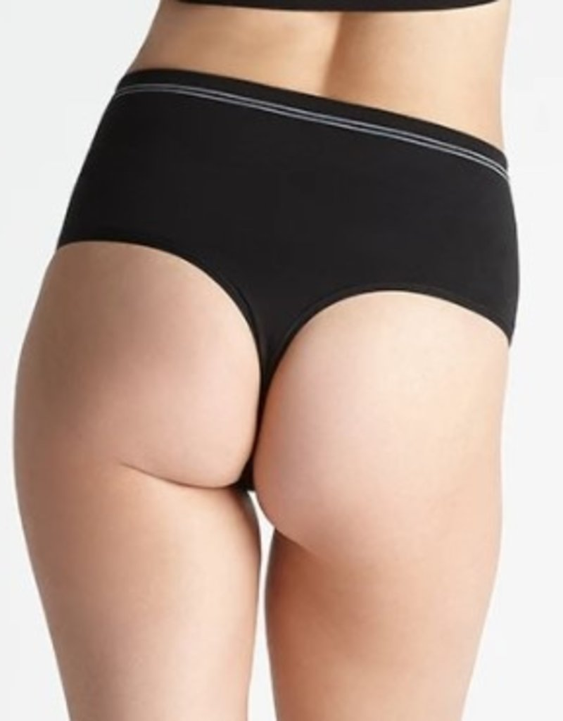 Yummie Yummie - Seamlessly Shaped Cotton Thong - YTS-178