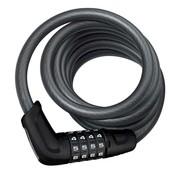 ABUS Cadenas Tresor 6512C, Câble avec serrure à combinaison à 4 chiffres, 12mm x 180cm (12mm x 5.9')