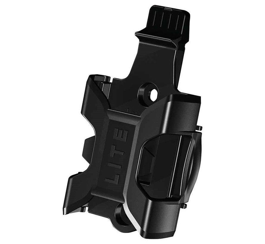 Cadenas pliable avec serrure à clé, Bordo Ugrip Lite 6055, 5mm x 85cm (5mm x 2.8'), Noir (PR)