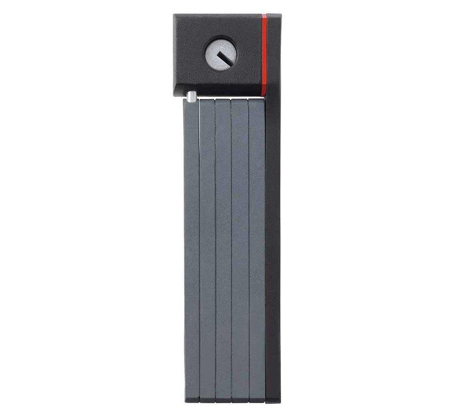 Cadenas pliable avec serrure à clé, Ugrip Bordo 5700, 80cm (2.6'), Noir (PR)