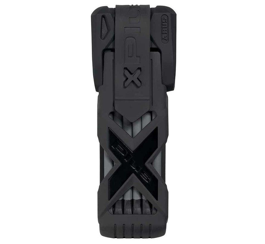 Cadenas pliable, Bordo Granit XPlus 6500, Clé, 85cm, 2.8', 5.5mm, Noir (PR)