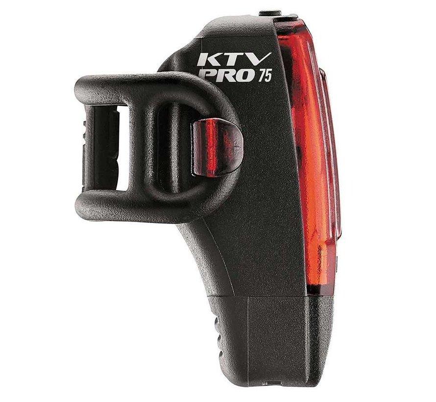 KTV Pro Drive Box, Lumière, Arrière, 75 Lumens, Noir