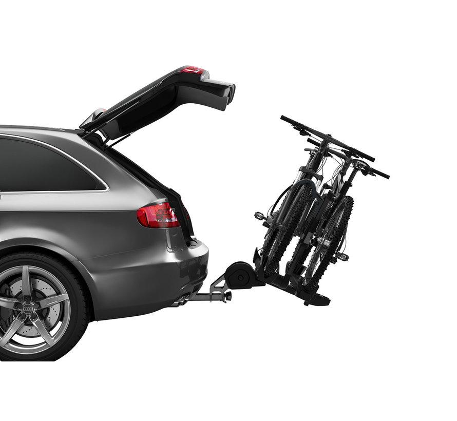 """Support à vélos T2 Pro XT 2 Vélos Noir (2"""") (PR)"""