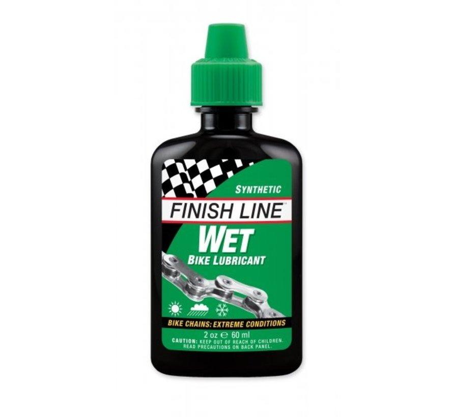 Wet Huile synthétique - lubrifiant vélo pour conditions extrêmes