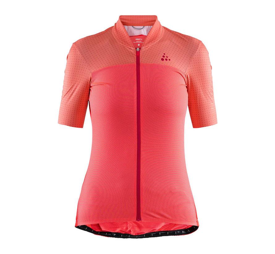 Hale Glow - Maillot de vélo de route à manches courtes pour femme