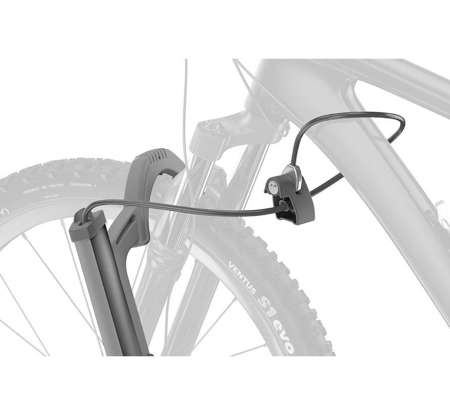 T2 Pro XT - Porte-vélo sur attache remorque (E-bike, Fat bike)