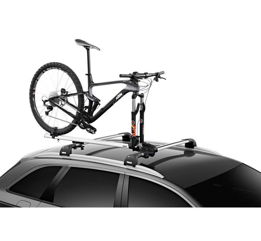 ThruRide - Support à vélo de toit