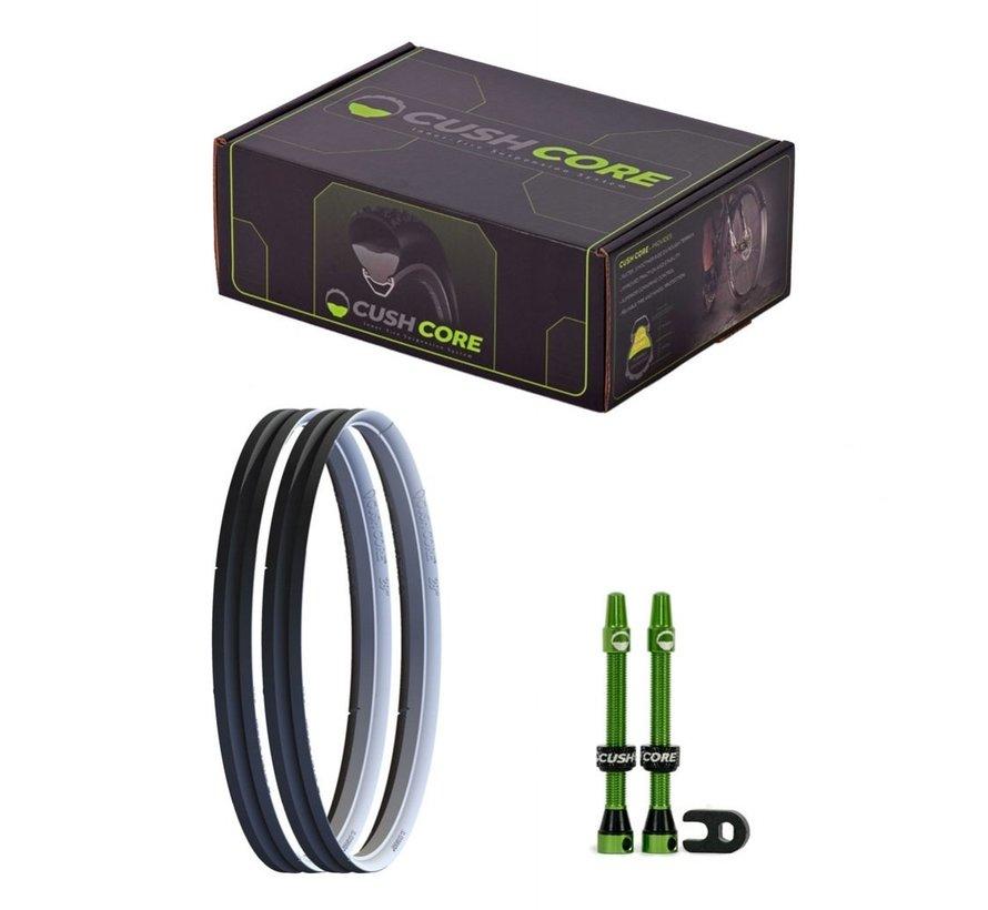 Ensemble de protection pour pneus vélo