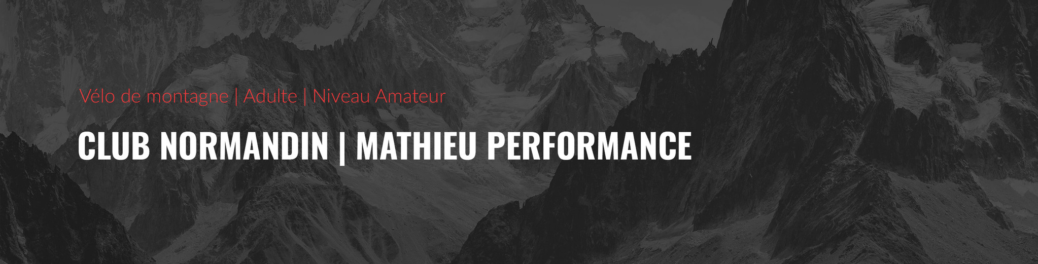 Club Normandin | Mathieu Performance