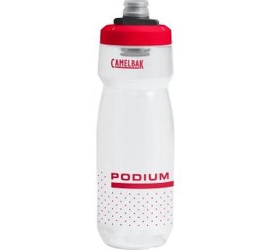 Podium - Bouteille d'eau en plastique pour vélo