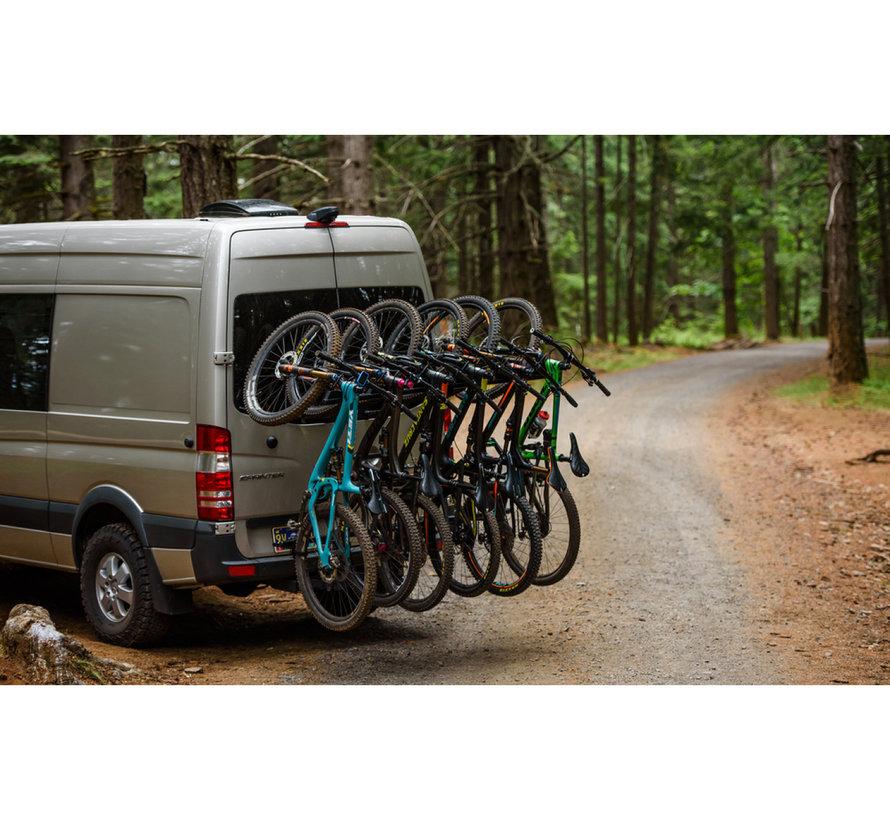 Support à vélo Hangover sur attache remorque