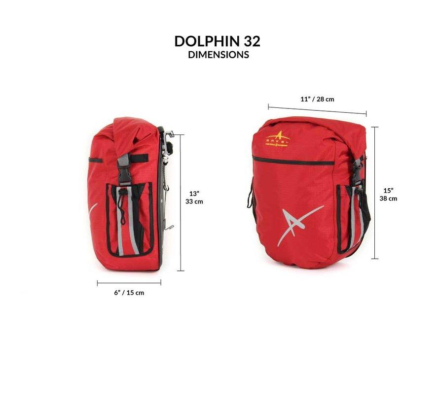 Paire de Sacoches Dauphin 32 (PR)