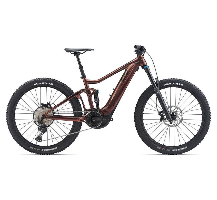 Intrigue E+1 Pro 2020 - Vélo de montagne électrique All-Mountain double suspension pour Femme