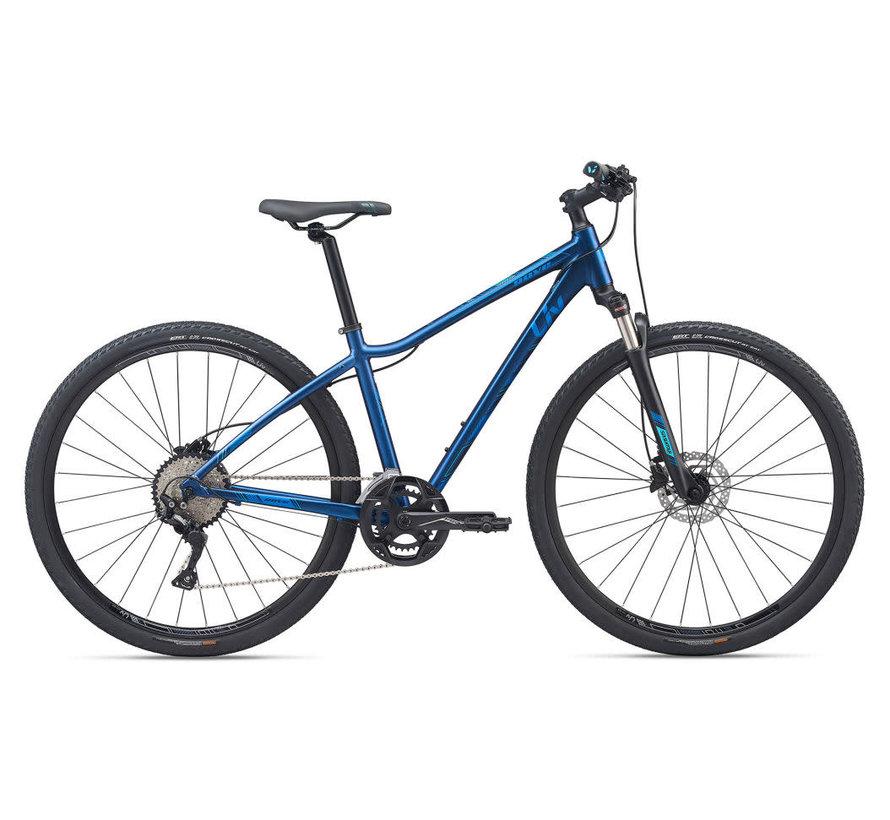 Rove 1 Disc 2020 - Vélo hybride cross à simple suspension pour Femme