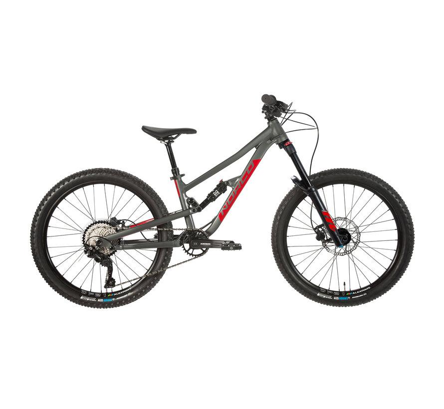 Fluid FS 4.2 2021 - Vélo de montagne à double suspension 24 pouces pour enfant